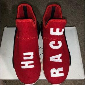 dc609d1eb7d64 Women s Adidas Human Race Shoes on Poshmark